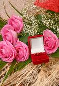 Anéis de casamento — Fotografia Stock