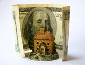 Toy house . — Stock Photo