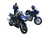 Two motorcycles — Stock Photo
