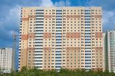 新居住区的建设 — 图库照片