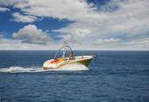 Barca va sul mare — Foto Stock