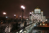 Temple of the Christ of the Savior in Moscow — Stock Photo