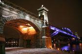 Bridge in Moscow — Stockfoto