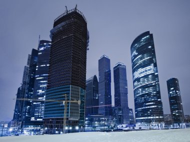 Business centre in Moscow.