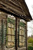 The old wooden house. — Stock Photo