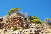 The old walls of Spinalonga. — Stock Photo