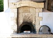 An old stone oven. — Stock Photo