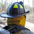 Firefighter Helmet - Stock Photo