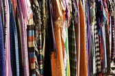 Dresses of many colors — Stock Photo
