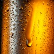 Water drops texture on the bottle of beer. Abstract background — Stock Photo #8985865