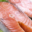 Stock Photo: Fresh salmon