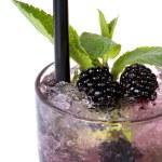 Mojito blackberry isolated — Stock Photo