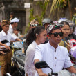 Traffic jam in Bali — Stock Photo #10216273