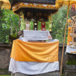 Hindu shrine in bali — Stock Photo
