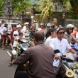 Traffic jam in Bali — Stock Photo #10216295