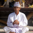 Praying priest — Stock Photo #10216431