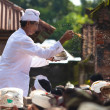Priest blessing — Stock Photo #10216441