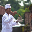 Priest blessing — Stock Photo #10216470