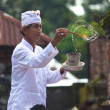 Priest blessing — Stock Photo #10216475