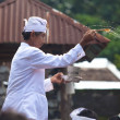 Priest blessing — Stock Photo #10216476