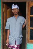Balinese man — Stock Photo