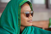Lokal kvinna — Stockfoto