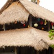 Thatch roof restaurant — Stock Photo