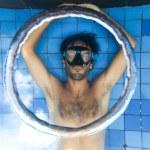 Bubble rings — Stock Photo