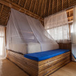 Bamboo bedroom — Stock Photo