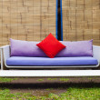 Royalty-Free Stock Photo: Outside sofa