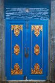 Blue door — Stock Photo