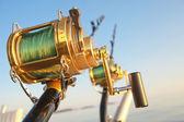 Big game fishing — Stock Photo