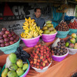 Fruit vendor — Stock Photo