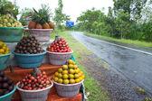 Fruit display — Stock Photo