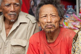 Old Balinese men — Stock Photo