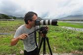 Photojournalist — Stock Photo