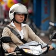 Stock Photo: Balinese traffic