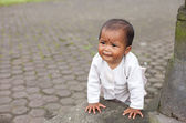 Balinese infant — Stock Photo