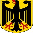 Germany coat of arms - Stock Vector