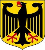 Germany coat of arms — Stock Vector