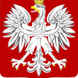 National arms of Poland - Stock Vector