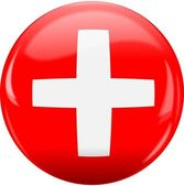 Switzerland flag icon. — Stock Vector