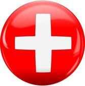 Switzerland flag icon. — Stock Vector