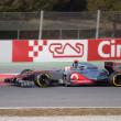 Jenson Button (GBR) McLaren MP4-27 - 3th Testing days Barcelona — Stock Photo #9411383