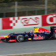 Mark Webber (AUS) Red Bull Racing RB8 — Stock Photo