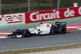 Sergio Perez (MEX) Sauber C31 - 3th Testing Days Barcelona — Foto de Stock