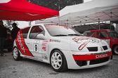 Paddock from rally XI, Toledo 2011 — Stock Photo
