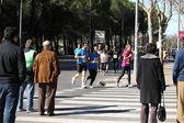 Half Marathon runners — Stock Photo