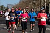 Marathon racers — Stock Photo