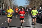 Corridori di maratona — Foto Stock